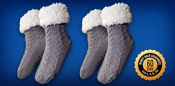 Order Huggle™ Slipper Socks Today!
